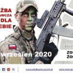 WKU: Nabór do służby przygotowawczej we wrześniu 2020