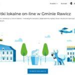 """Nowa witryna dla podatników: """"Przyjazne deklaracje w Gminie Rawicz"""""""